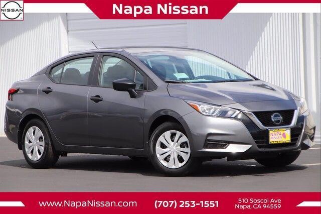 new 2021 Nissan Versa car, priced at $15,982