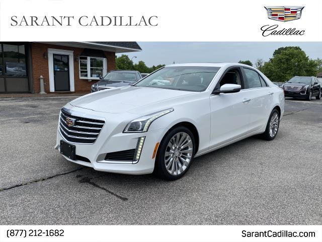 used 2018 Cadillac CTS car, priced at $36,900