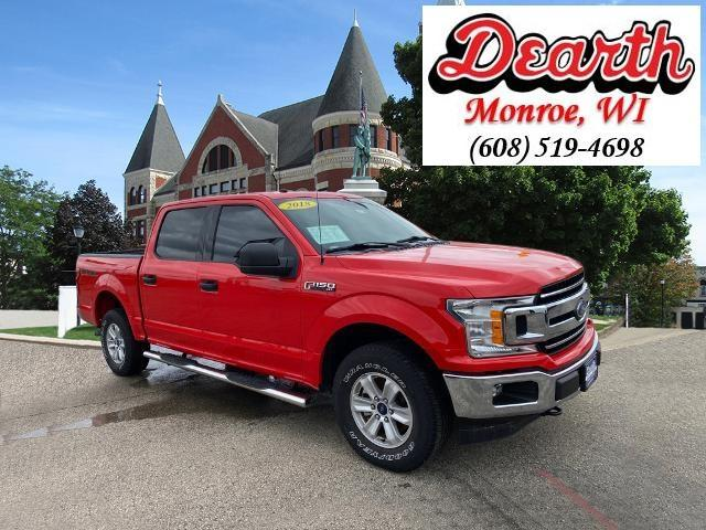 used 2018 Ford F-150 car, priced at $34,597