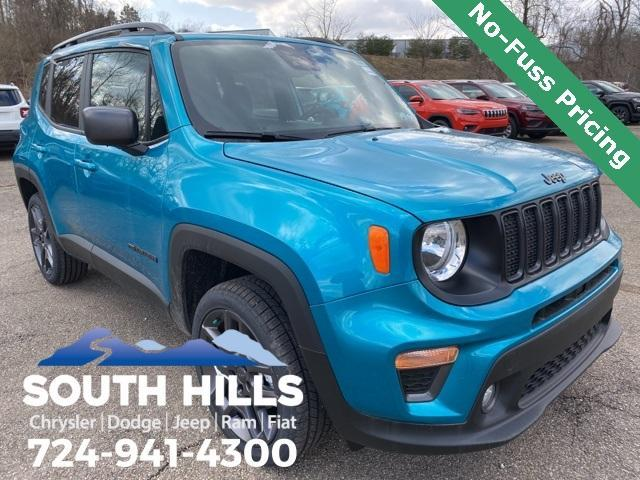 new 2021 Jeep Renegade car, priced at $27,105