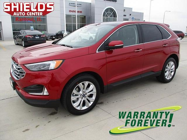 new 2020 Ford Edge car, priced at $39,385