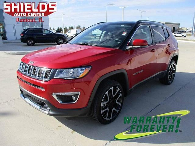 used 2018 Jeep Compass car, priced at $23,995