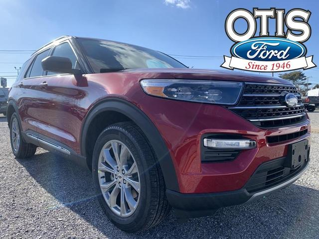 new 2021 Ford Explorer car, priced at $45,290