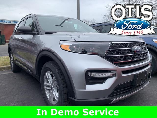 new 2021 Ford Explorer car, priced at $42,275