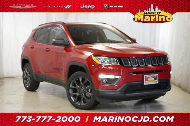 new 2021 Jeep Compass car, priced at $36,645