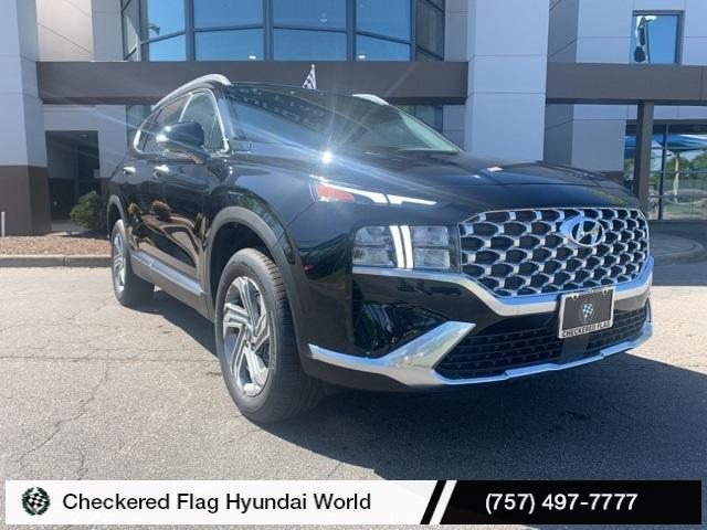 new 2021 Hyundai Santa Fe car, priced at $32,023