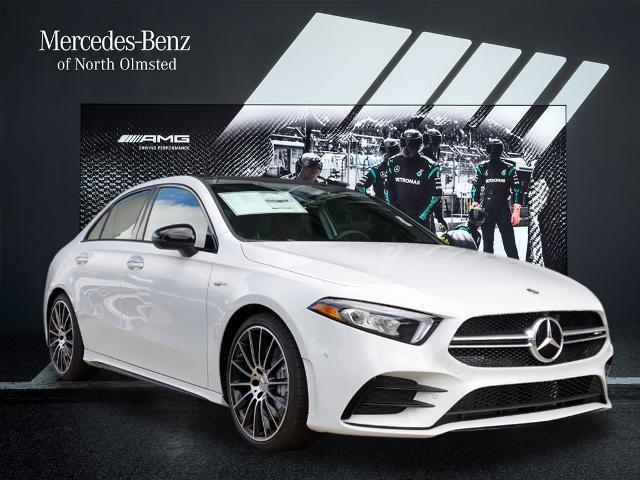 new 2021 Mercedes-Benz AMG A 35 car, priced at $55,945
