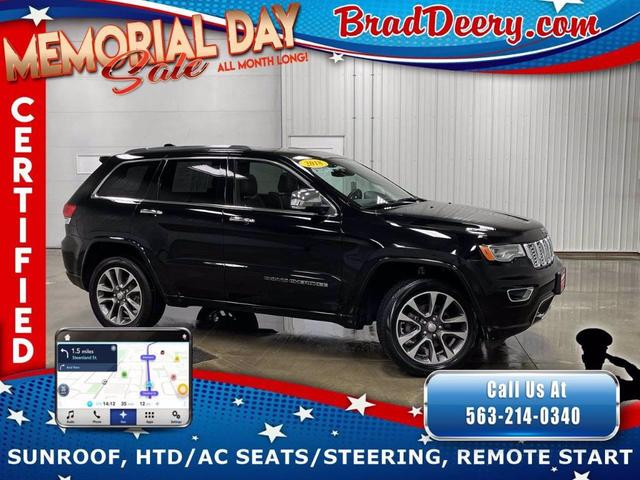 used 2018 Jeep Grand Cherokee car, priced at $34,780