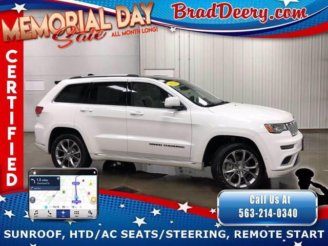 used 2020 Jeep Grand Cherokee car, priced at $52,165