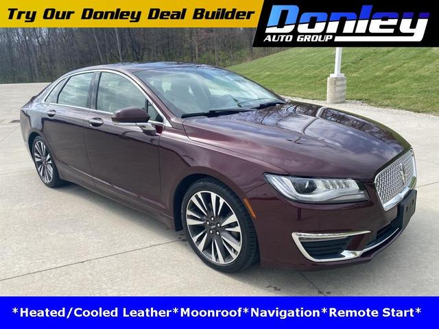 used 2018 Lincoln MKZ car, priced at $29,392