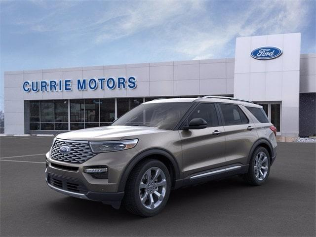 new 2021 Ford Explorer car, priced at $58,615