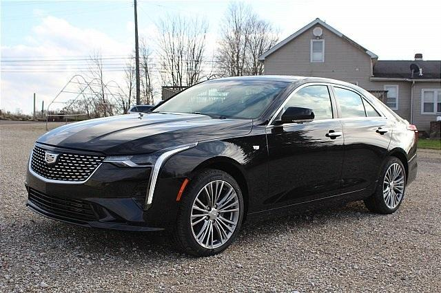new 2021 Cadillac CT4 car, priced at $44,080