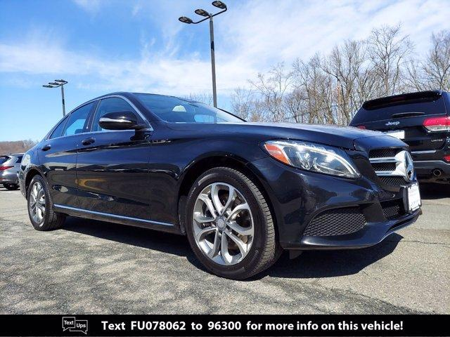 used 2015 Mercedes-Benz C-Class car, priced at $19,000