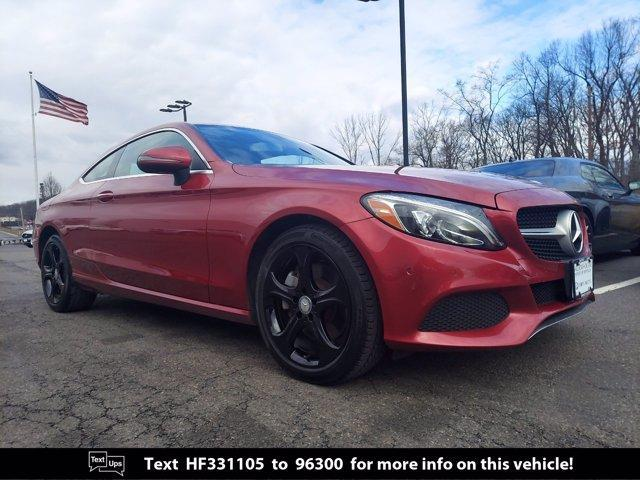 used 2017 Mercedes-Benz C-Class car, priced at $24,000