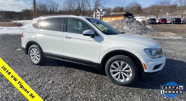 used 2018 Volkswagen Tiguan car, priced at $22,347