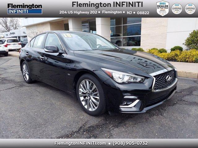 used 2018 INFINITI Q50 car, priced at $30,994