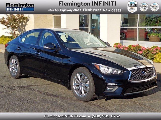 new 2021 INFINITI Q50 car, priced at $40,220