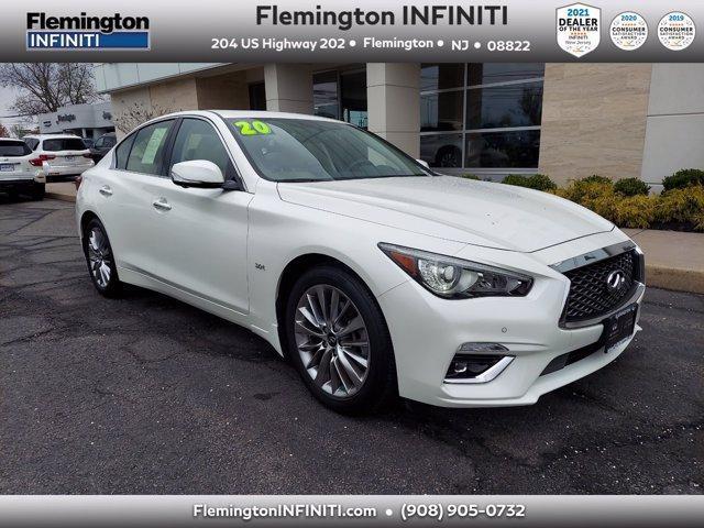 used 2020 INFINITI Q50 car, priced at $34,990