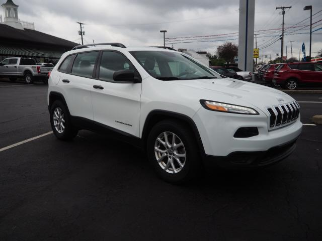 used 2015 Jeep Cherokee car, priced at $14,500