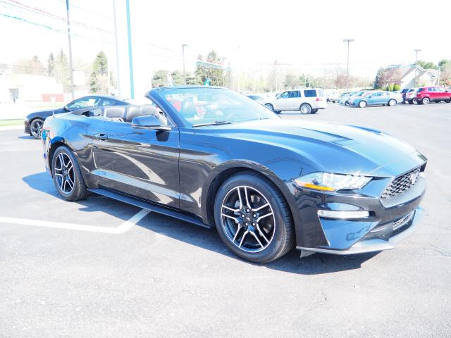 used 2020 Ford Mustang car, priced at $34,988