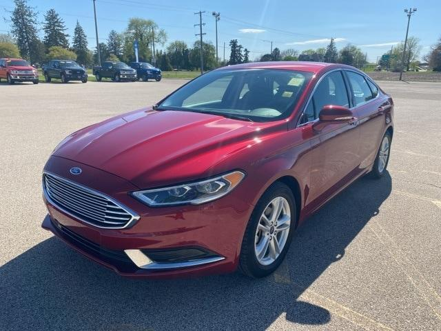 used 2018 Ford Fusion car, priced at $23,988