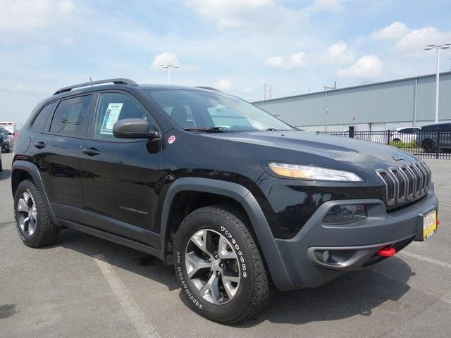 used 2017 Jeep Cherokee car, priced at $23,700