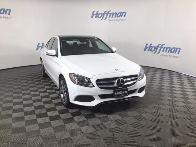 used 2017 Mercedes-Benz C-Class car, priced at $24,599