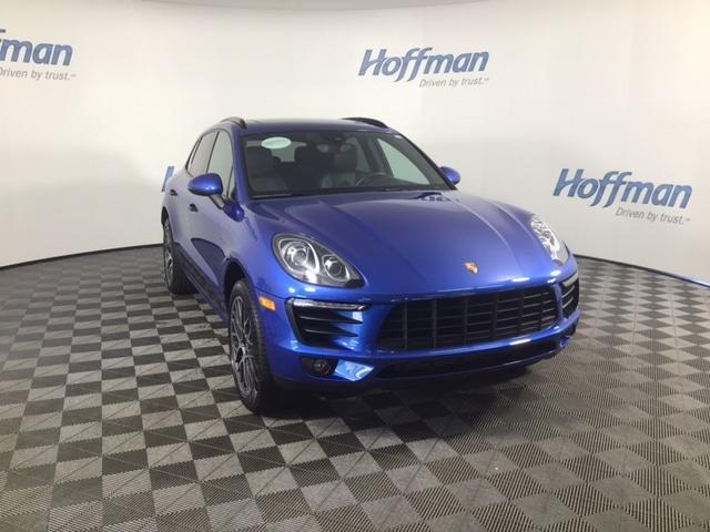 used 2018 Porsche Macan car, priced at $49,483