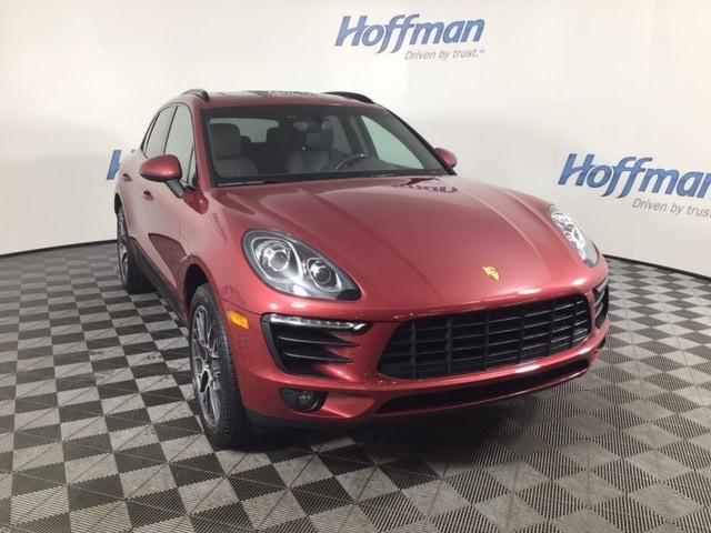 used 2016 Porsche Macan car, priced at $35,599