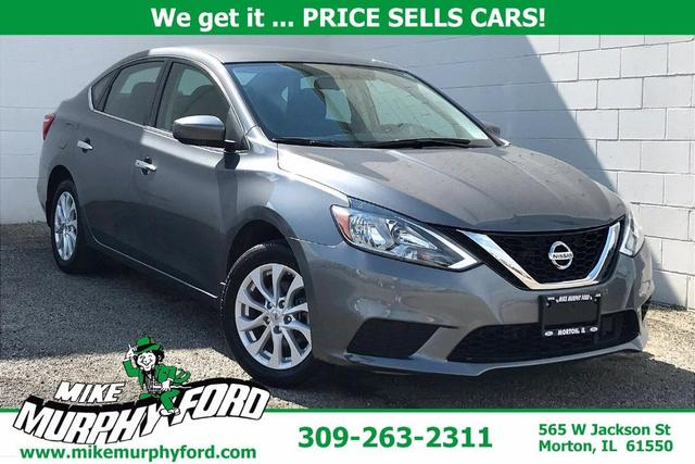 used 2019 Nissan Sentra car, priced at $17,994