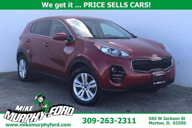 used 2019 Kia Sportage car, priced at $19,494
