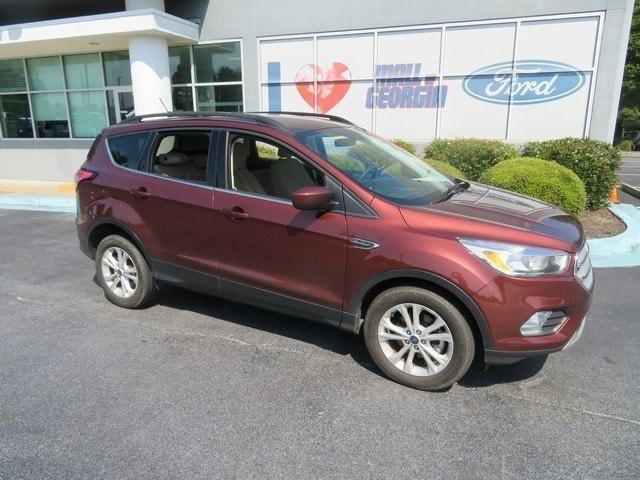 used 2018 Ford Escape car, priced at $21,788