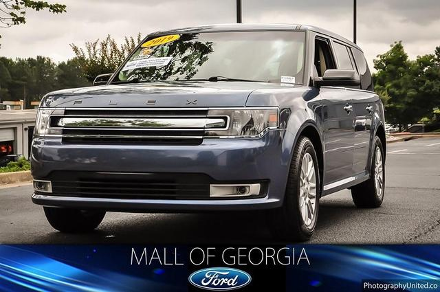 used 2019 Ford Flex car, priced at $28,871