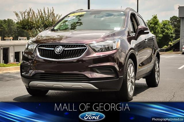 used 2018 Buick Encore car, priced at $21,893