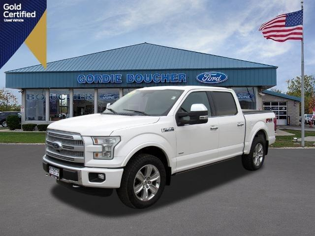used 2016 Ford F-150 car, priced at $42,886