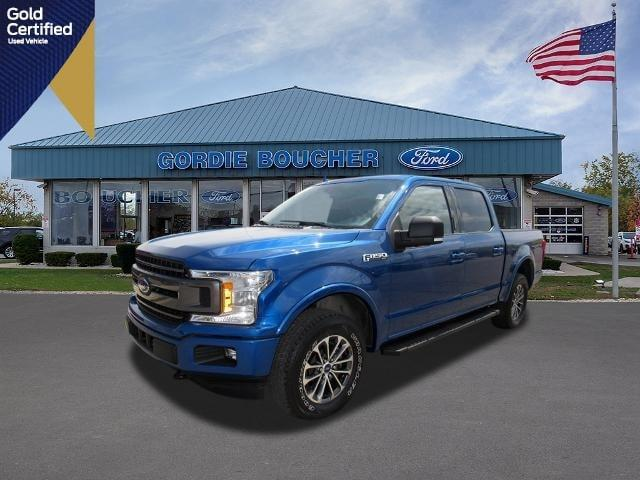 used 2018 Ford F-150 car, priced at $41,737