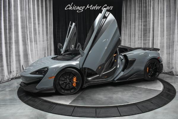 used 2019 McLaren 600LT car