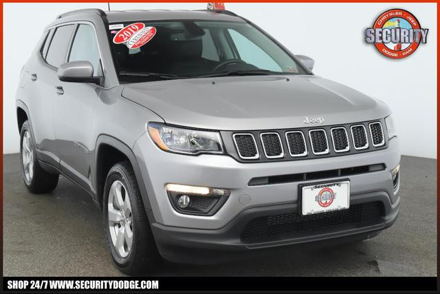 used 2019 Jeep Compass car, priced at $21,900