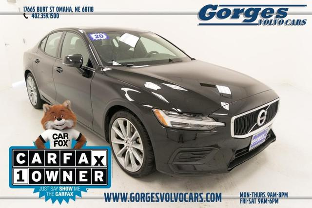 used 2020 Volvo S60 car, priced at $33,080