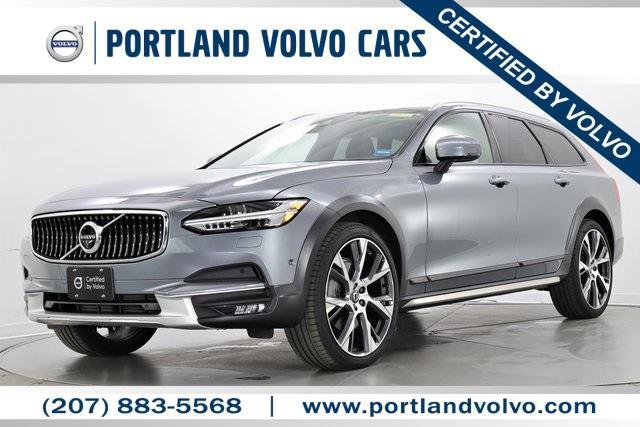 used 2018 Volvo V90 Cross Country car, priced at $43,995