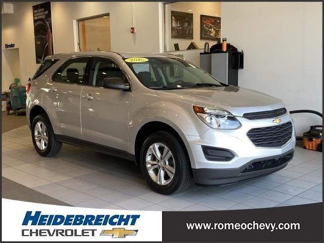 used 2016 Chevrolet Equinox car, priced at $12,690