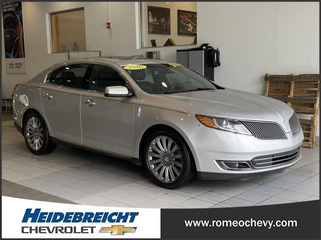 used 2016 Lincoln MKS car, priced at $19,990