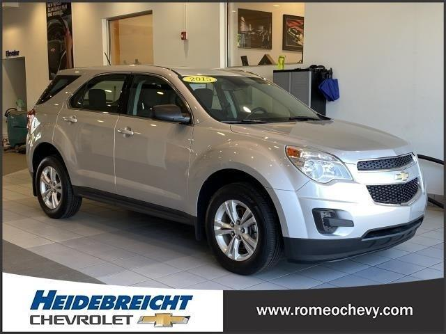 used 2015 Chevrolet Equinox car, priced at $13,490