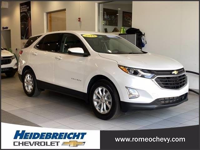 used 2018 Chevrolet Equinox car, priced at $20,290