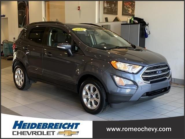 used 2018 Ford EcoSport car, priced at $16,490