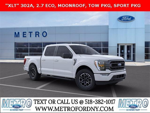 new 2021 Ford F-150 car, priced at $57,455