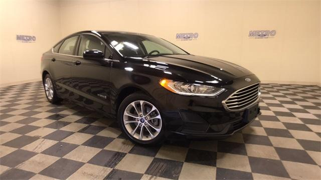 used 2019 Ford Fusion Hybrid car, priced at $19,800