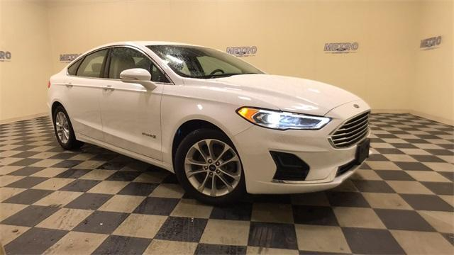 used 2019 Ford Fusion Hybrid car, priced at $22,000