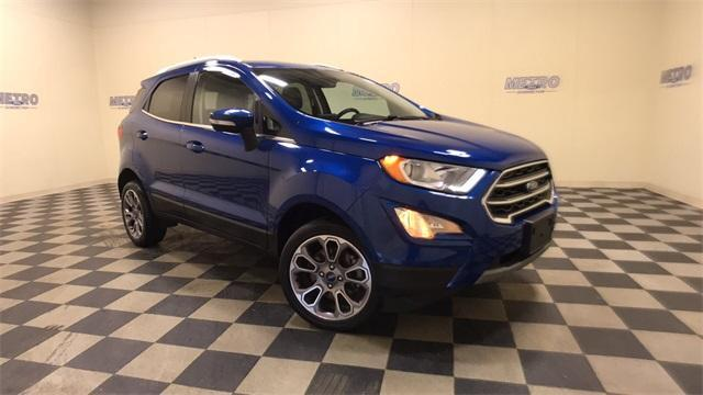 used 2018 Ford EcoSport car, priced at $22,500
