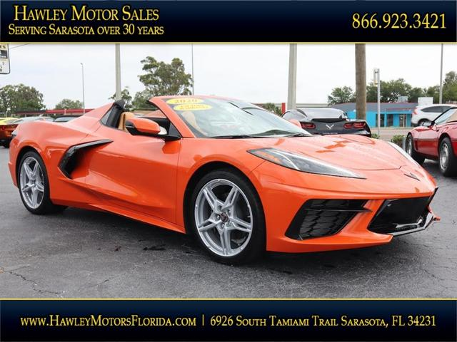 used 2020 Chevrolet Corvette car, priced at $112,988